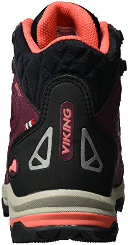 4151 Ascent Arrampicata Coral Donna Wine Scarpe Rosso da GTX Viking II vdwFx7vX