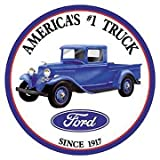 Ford Trucks Tin Sign 12 x 12in