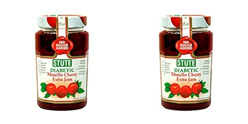 (2 PACK) - Stute Morello Cherry Extra Jam| 430 g |2 PACK - SUPER SAVER - SAVE MONEY by Stute Foods Ltd