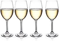 Juego de 4 copas de vino blanco para vino blanco y grandes copas de vino blanco para contener 38 CL. de vino apto para todas las ocasiones