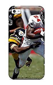 New Style 4291940K473312581 tampaayuccaneersittsburgteelers NFL Sports & Colleges newest iPhone 5c cases