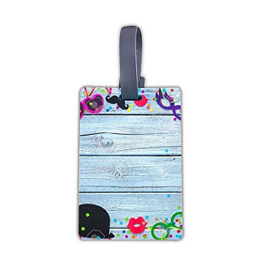 Personalized Luggage Tags Suitcase tags Dog Tags | Many Colors To Choose-Carnival Props Streamers And Confetti