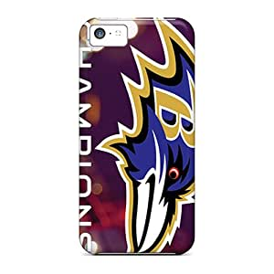 Best-phone-covers Iphone 5c Bumper Hard Phone Case Support Personal Customs HD Baltimore Ravens Series [ztw11634xqrM]