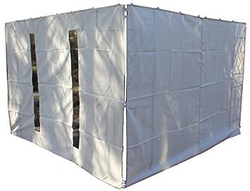 1 Seitenteil Fenster für 3x3 Pavillion,Beige,Neu