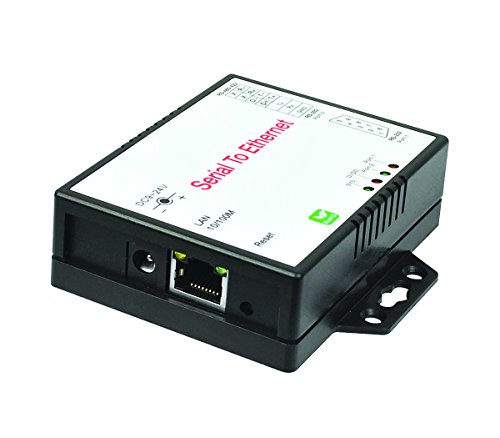 SIIG 2-Port RS-232/422/485 Serial over IP Ethernet Device Server by SIIG