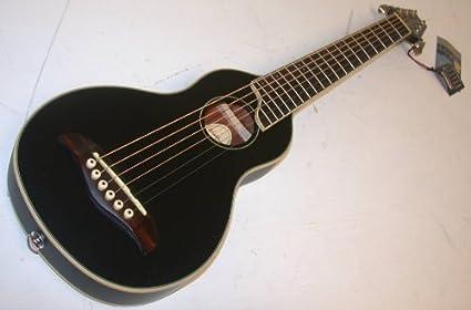 Washburn RO10 Rover guitarra de viaje con funda, tapa de pícea ...