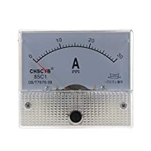 SODIAL(R) 85C1 Analog Current Panel Meter DC 30A AMP Ammeter