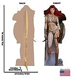 Advanced Graphics Red Sonja Life Size Cardboard