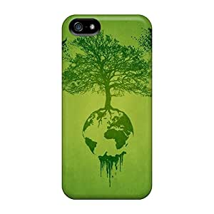 Faddish Phone Earth Tree Birds Cases For Iphone 5/5s / Perfect Cases Covers