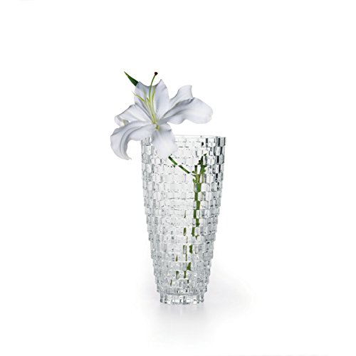 "Mikasa Palazzo Vase Crystal, 9"""