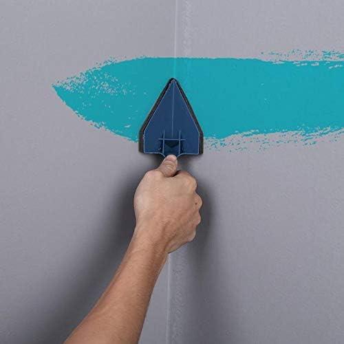 pintura rodillo pared decorativa cepillo herramientas 8 Piezas Diy Paint Roller Tools Set Multifunctional Household Use Wall Decorative Handle Flocked Edger Tool Painting Brushes