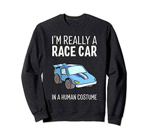 Cute But Scary Halloween Costumes Ideas - I'm Really A Race Car In