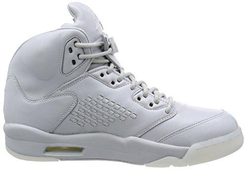 Jordan Heren Lucht 5 Retro Prem, Zuiver Platina / Zuiver Platinum Grey