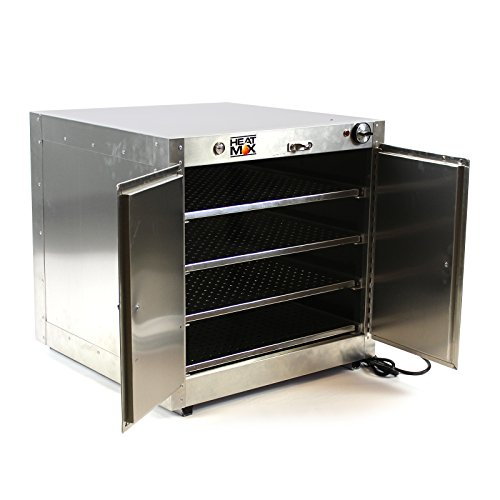 Commercial 110V Catering Hot Box Proofer Food Warmer w/ Water Tray 24''x24''x24'' by HeatMax