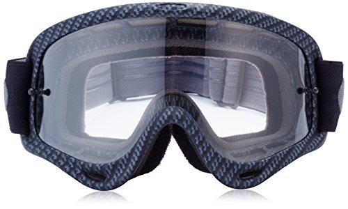 b24af436fd67 Amazon.com  Oakley O-Frame Graphic Frame MX Goggles (True Carbon Fiber Clear  Lens