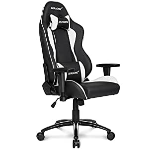 AKRacing Nitro - AK-NITRO-WT - Silla Gaming, Color Negro