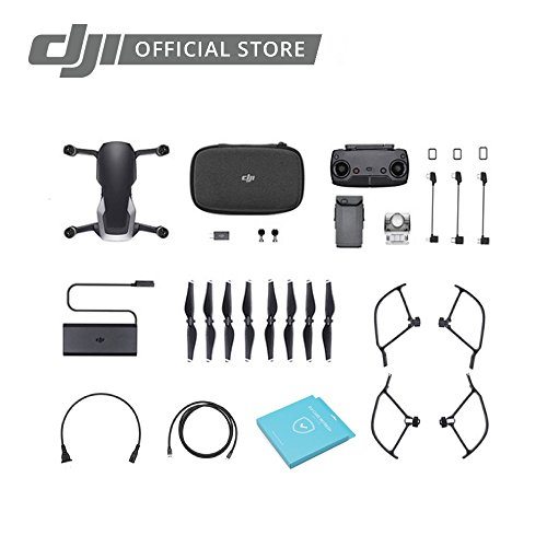 DJI Mavic Air Fly More Combo with DJI Care Refresh Portable Quadcopter Drone (Onyx Black)