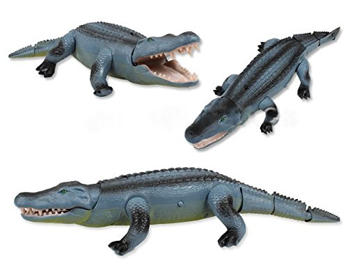 Liberty Imports Remote Control Crocodile Toy RC Walking Alligator with Lights and Sound Effects by Liberty Imports (Image #2)