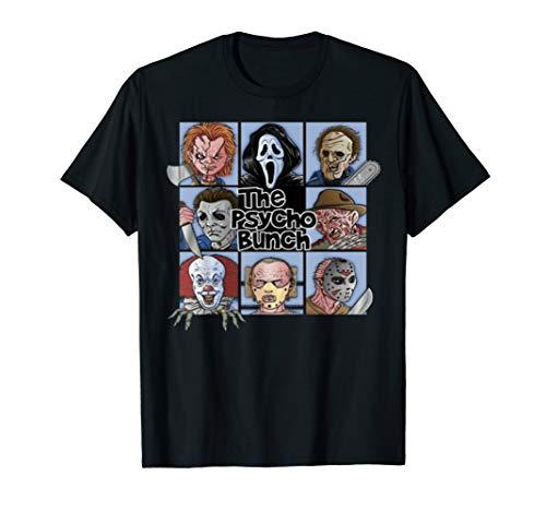 Halloween Horror Nights T Shirts (Spooky The Psycho Bunch Serial Killer Halloween Horror Gift)