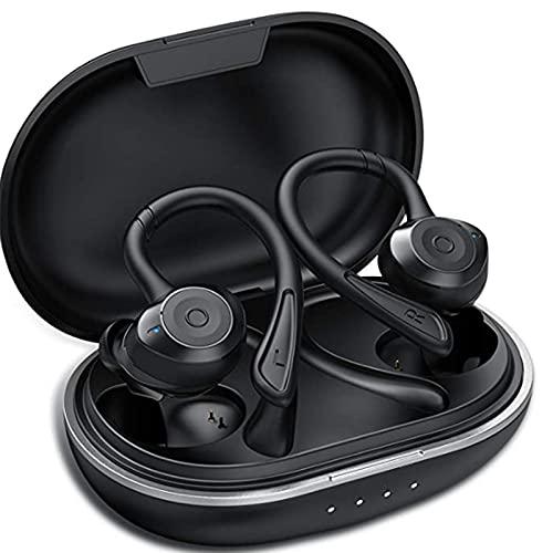 Muzili Bluetooth hoofdtelefoon Sport IPX7 waterdicht sport hoofdtelefoon draadloze in-ear 36 uur speeltijd HiFi…