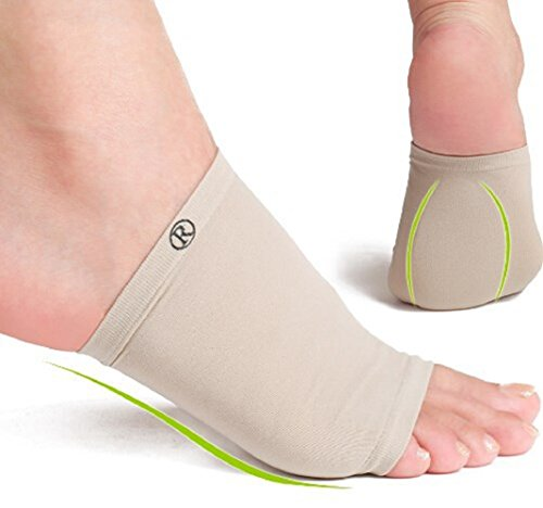 Dr. Anderson Arch Support Inserts - Plantar Fasciitis Arch Sleeve Wrap Shoe Insert with Comfort Gel Cushions to Relieve Pain from Plantar Fasciitis and Flat or Fallen ()