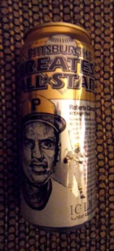 Roberto Clemente Memorabilia (Iron City 16 Ounce Roberto Clemente Pittsburgh Pirates Beer)