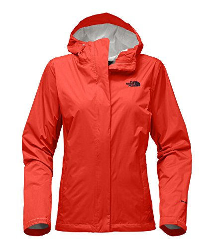 The North Face Womens Venture 2 Jacket Fire Brick Red   L