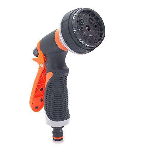 Keshiwo 8Patterns Water Nozzle Head Hose Sprayer Garden Spray Auto Car Washing home,Health Household Home Kitchen All-Purpose Household cleaning supplies from Keshiwo