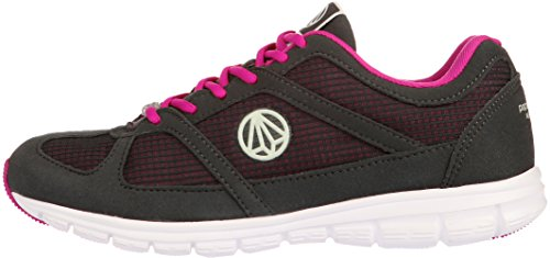 Paperplanes - 1201 Unisex, Super-leichtes Mesh Walking Turnschuhe 1203-Dark Gray Wine