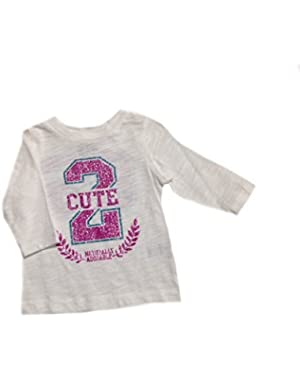 Baby Girls' Naturally Adorable T-shirt -3 Months