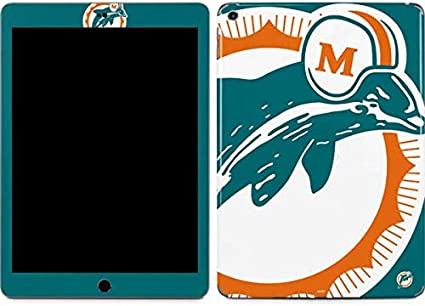 2019 Skinit Decal Tablet Skin for iPad 7th Gen Officially Licensed NFL Miami Flag Design Design