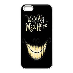 James-Bagg Phone case Alice in Wonderland Protective Case For Apple Iphone 5 5S Cases Style-3