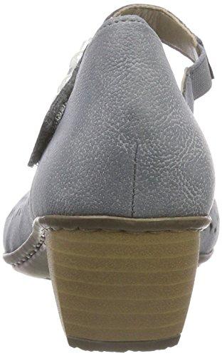 Scarpe 41767 Blu Donna Con Rieker Tacco adria HPqaBBx