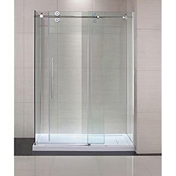 Schon Lindsay 60 in. x 79 in. Frameless Shower Enclosure