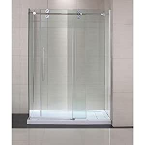 Amazon Com Schon Lindsay 60 In X 79 In Frameless Shower