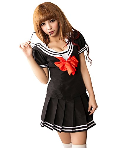 Lingeriecats Sexy Sailor Style School Girl Uniform Cosplay Costume Set