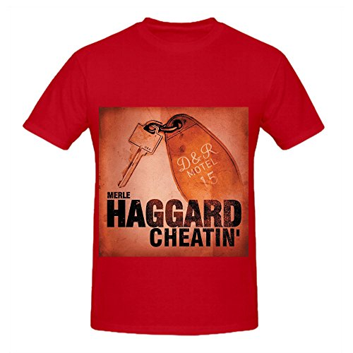 merle-haggard-cheatin-rock-album-cover-men-crew-neck-customized-t-shirts-red