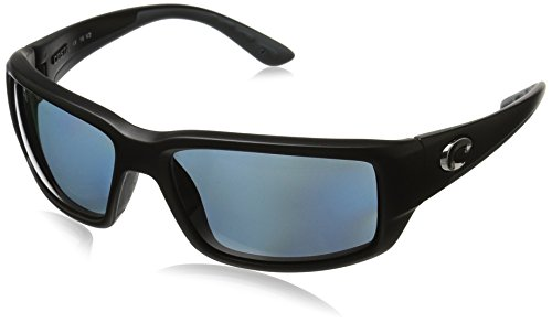 Costa Del Mar Fantail Polarized Sunglasses, Black, Gray - Del Mar Womens Costa