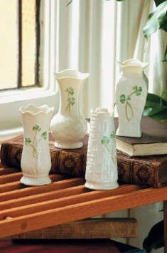 Belleek Vase Collection Set Of 4 Mini ()