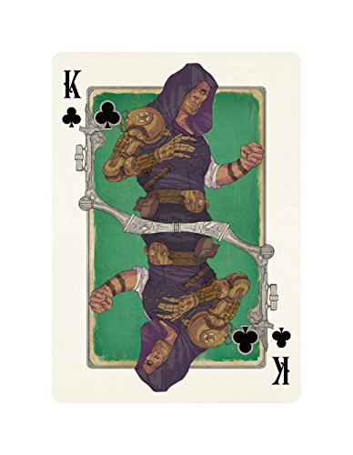 Steampunk Playing Cards 5