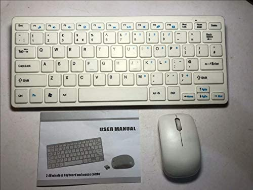 Mini teclado inalámbrico y ratón para SMART TV SAMSUNG UE40 F5300AW: Amazon.es: Electrónica