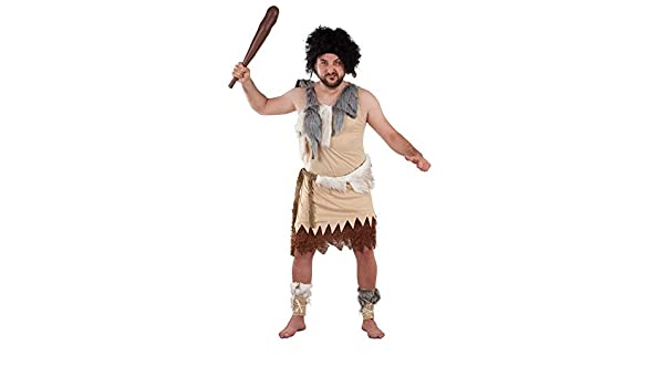 DISBACANAL Disfraz de troglodita para Hombre - -, XL: Amazon.es ...