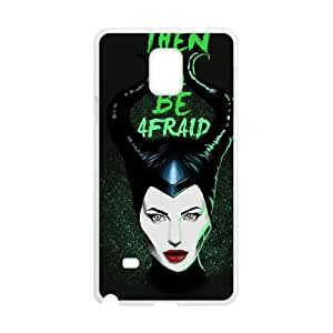 Samsung Galaxy Note 4 Cell Phone Case White MALEFICENT B0T3QF