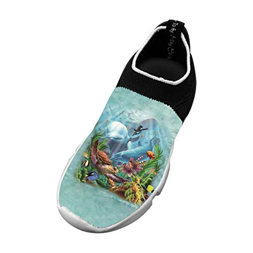 New Awesome Flyknit Shoe 3D Customizable With Halobios For Boy Girl