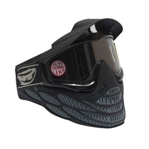 JT Flex 8 Goggle, Black/Grey (Jt Black Thermal Paintball Mask)