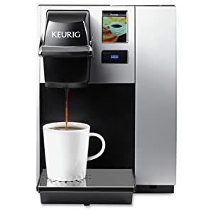 Keurig K150 Houshold / Commercial Brewing System: Coffee : I love this coffee maker