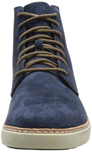 blue Ek Bleu Boots Toe Plain Timberland Boot Homme Hudston U8qgxnxp