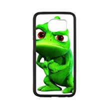 Samsung Galaxy S6 Cell Phone Case White Disney Tangled Character Pascal 08 Tuggo