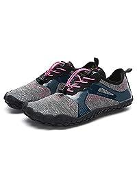 Sodef Mens Womens Water Sport Shoes Quick Dry Aqua Socks Barefoot Outdoor Beach Swim Surf Pool Yoga Shoes