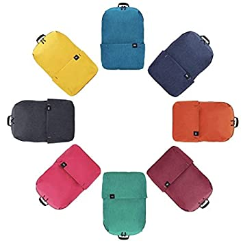 Xiaomi - Mini Mochila Ligera Xiaomi Colorfull Resistente al Agua - 10L Capacidad - Morado: Amazon.es: Deportes y aire libre